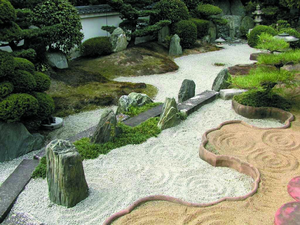 Jardines secos revista alta gama for Jardines adornados con piedras