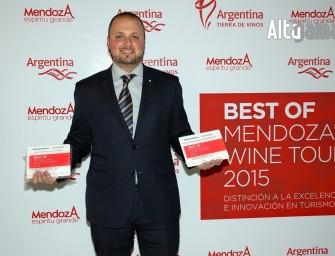 Entrega de premios Best of Mendoza´s Wine Tourism