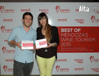 Entrega de premios Best of Mendoza´s Wine Tourism