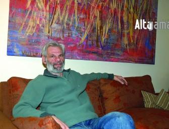 El artista que eligió Mendoza para desarrollar su talento