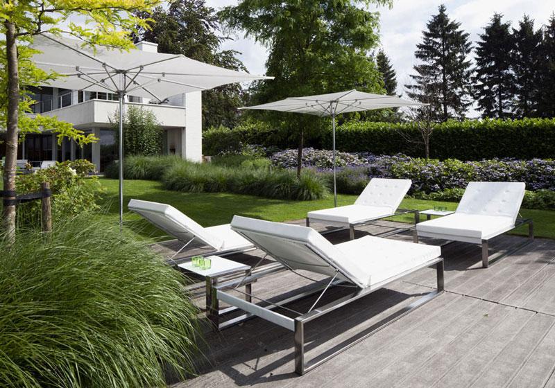 Jardines nuevas tendencias revista alta gama - Gartenliege modern ...