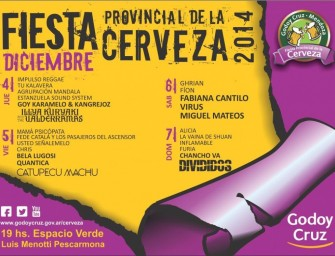 La previa de la Fiesta de la Cerveza 2014