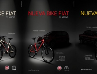 Fiat presente en el Triatlón de Mar del Plata con sus bikes Fiat by Mopar