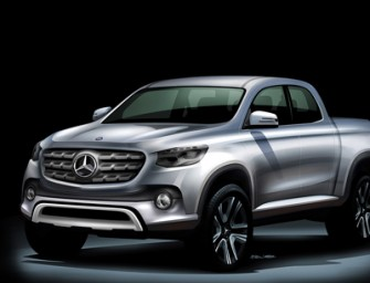 La pickup mediana de Mercedes Benz