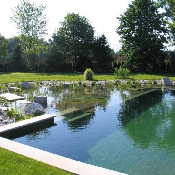 Piscinas Ecológicas, todo un espectáculo natural para cualquier vivienda, ya que se integra al entorno.