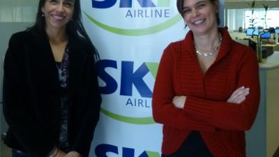 Sky Airline suma nuevas rutas entra argentina y chile.