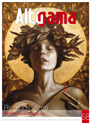 Tapa revista Alta Gama 58