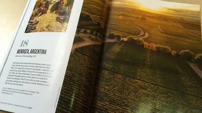 The Vines of Mendoza fue elegida como uno de los 100 lugares que te cambiarían la vida