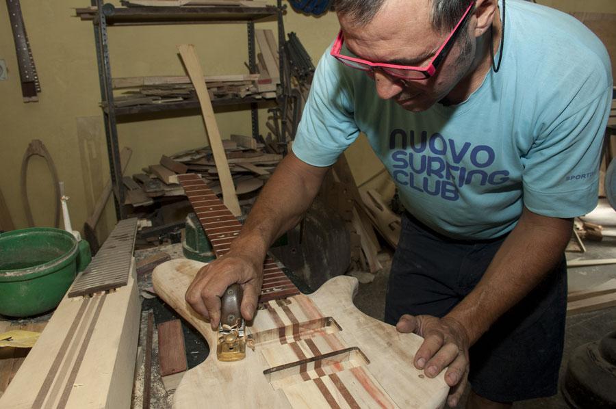 Javier Lopez, el artesano del sonido.
