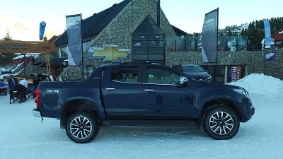 Chevrolet presente en Las Leñas 2016