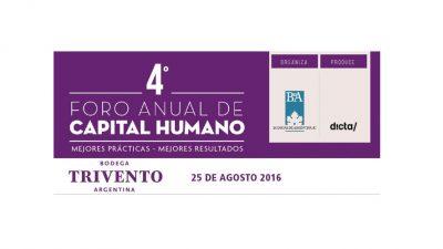 Llega el Foro Anual de Capital Humano
