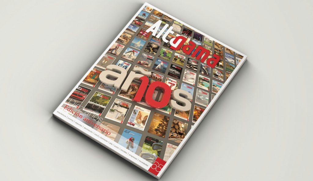 10 Años de Revista Alta Gama