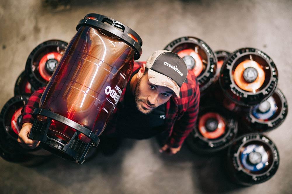 Innovadores barriles de cerveza no retornables