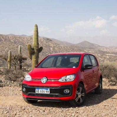 El Volkswagen up! agrega equipamiento de confort y seguridad