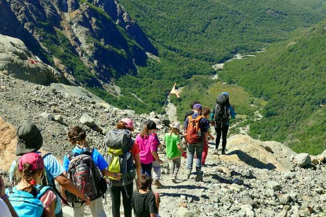 Trekking de montaña en el Bolsón