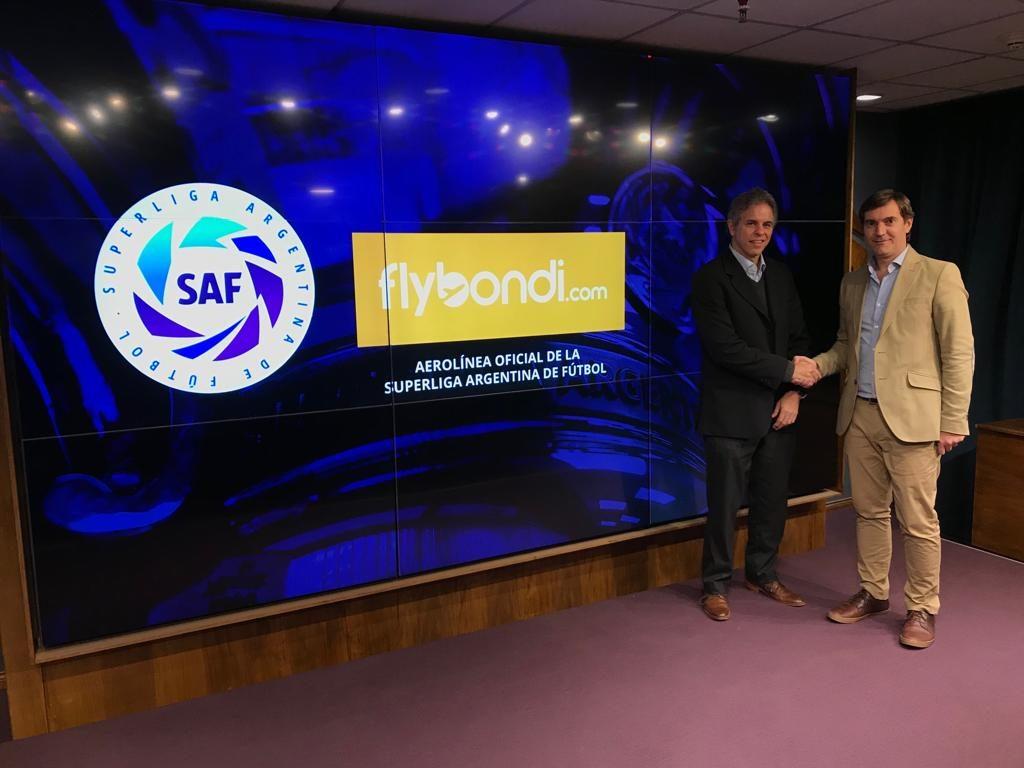 Flybondi es la aerolínea oficial de la Superliga