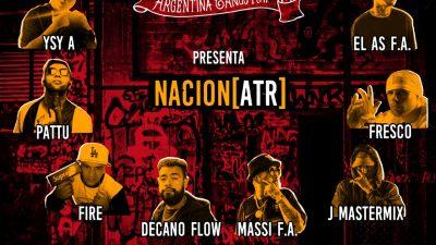 ATR – Argentina Tango Rap presenta NACION ATR junto a grandes invitados de la escena urbana